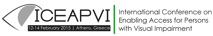 International Conference on Enabling Access for Persons with Visual Impairment (ICEAPVI-2015)