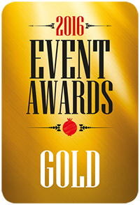 Events awards stickers 2016_GOLD