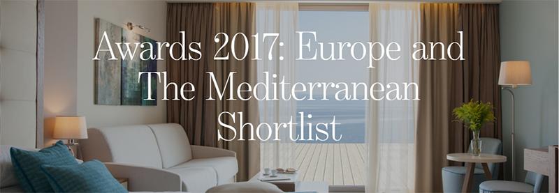 Τα καλύτερα ξενοδοχεία για Συνέδρια ή Επαγγελματικές Συναντήσεις σύμφωνα με τα Condé Nast Johansens Awards for Excellence 2017
