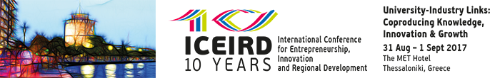 10th International Conference on Entrepreneurship, Innovation and Regional Development (ICEIRD 2017)