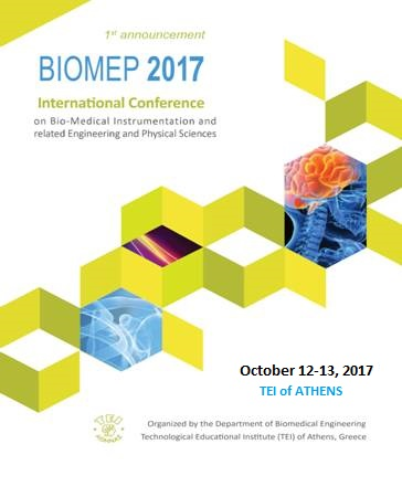 BIOMEP 2017 – Conference on Bio-Medical Instrumentation and related Engineering and Physical Sciences