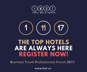 """BUSINESS TRAVEL PROFESSIONALS FORUM 2017 by SWOT """"The FullDay Project"""""""