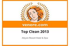 "ALKYON HOTEL: ψηφίστηκε ως ""Top Clean 2013"""