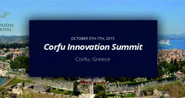 """Ευρωπαϊκό Συνέδριο """"Corfu Innovation Summit"""" στο ξενοδοχείο Corfu Holiday Palace"""