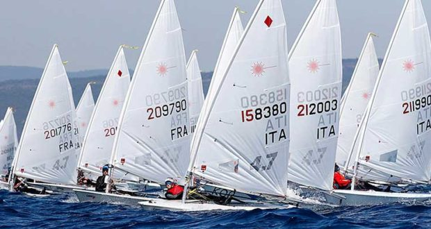 Η WE MAG για το European Lasers 4.7 Youth Championship & Trophy Patras 2018
