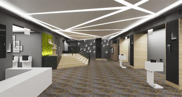 Ανακαίνιση στον μεγαλύτερο συνεδριακό χώρο του Crowne Plaza Athens City Centre