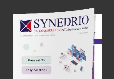 Διαβάστε το SYNEDRIO – Congress + Event Magazine and Guide